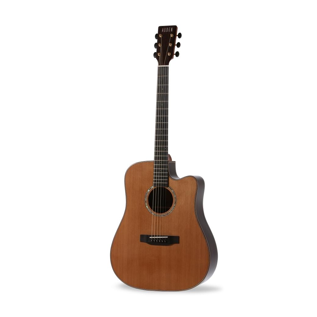 Dreadnought Cedar Cutaway auden guitar product image front