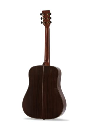 Colton Dreadnought Full Body Auden Guitar product image back
