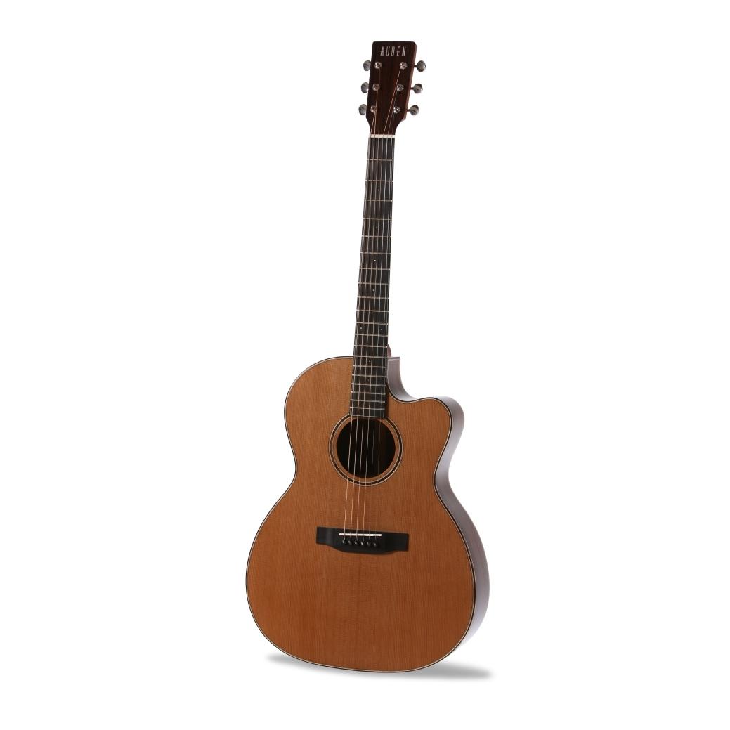 Chester 000 Cedar Cutaway Auden Guitar product image front
