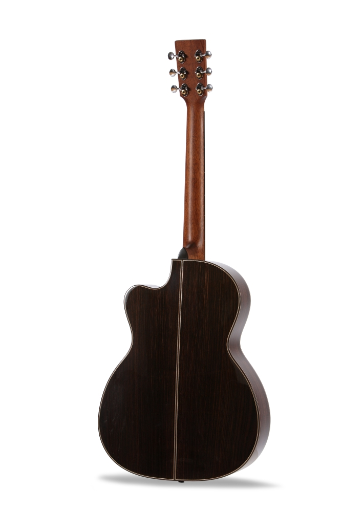 Chester 000 Cutaway Auden Guitar product image back