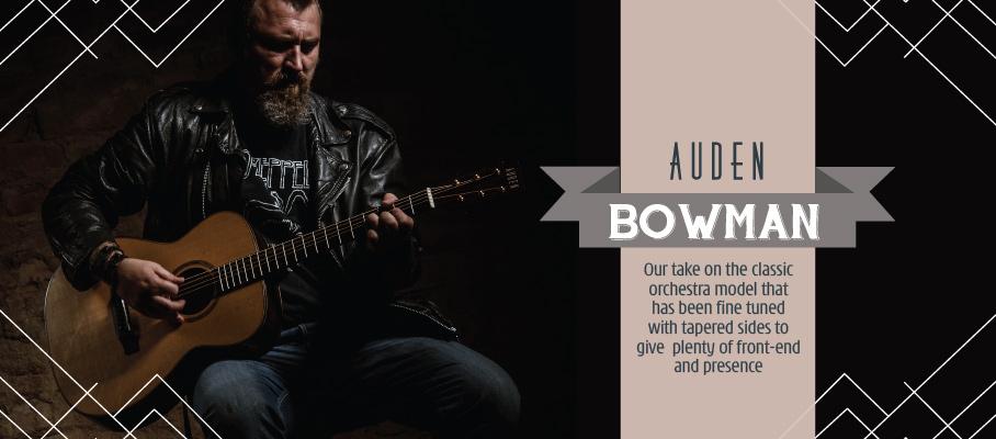 Auden Bowman acoustic guitar - slider image