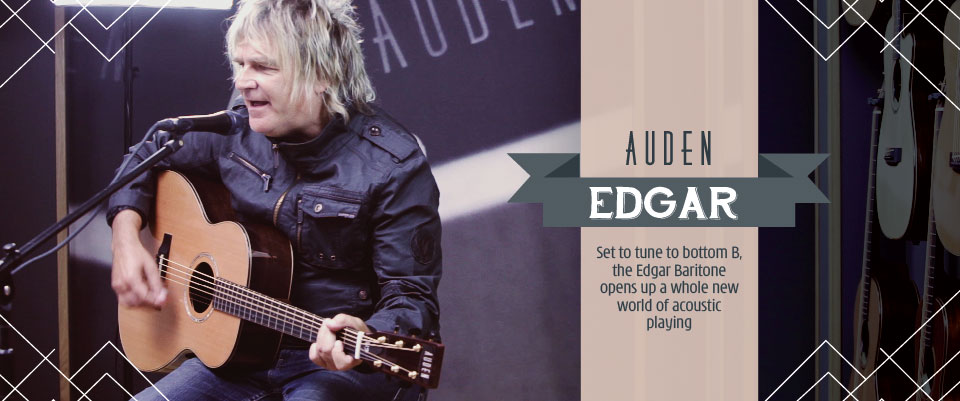 Auden Edgar acoustic guitar - slider image