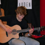 Scott Booth - Auden Guitars artist at London Acoustic Show 2013