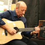 Enzo - Auden guitars artist - playing at London Acoustic Show 2013