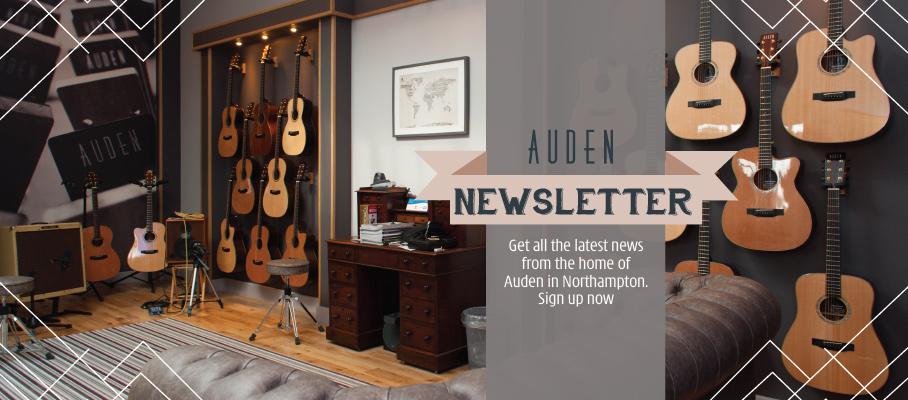 Auden Newsletter header graphic