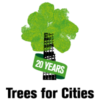 Trees for cities 20th birthday logo