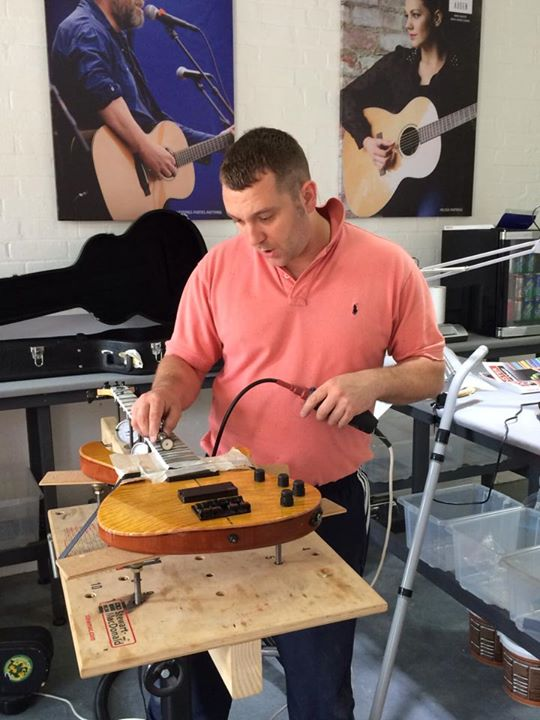 Auden Guitars luthier services 1