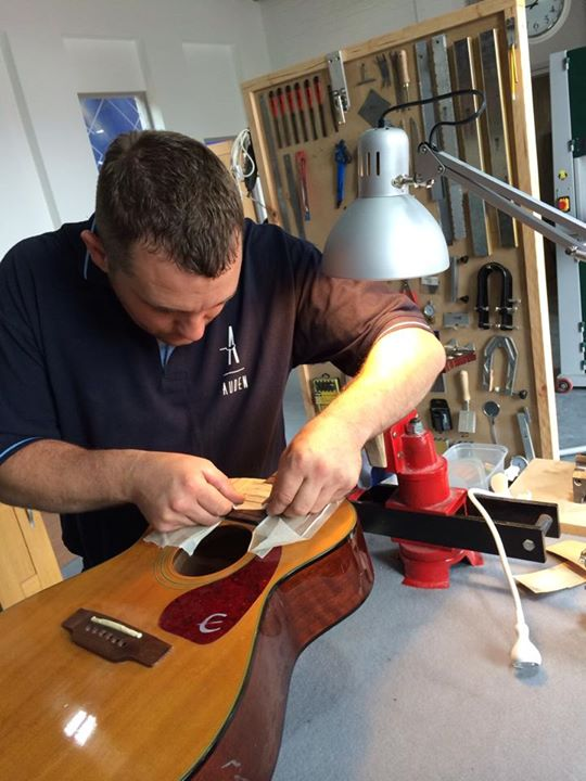 Auden Guitars luthier services 2