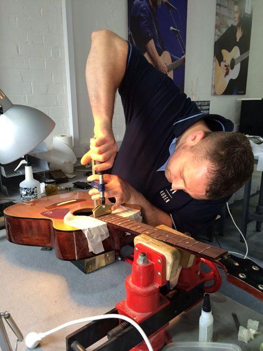 Auden Guitars luthier services 3