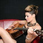 Melissa Partridge with Auden Guitars - 2