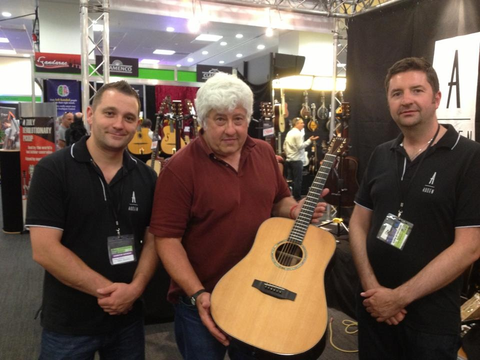 First sale at London Acoustic Show - Auden Guitars