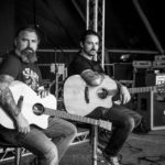 Stormbringer playing Auden Guitars at Download Festival