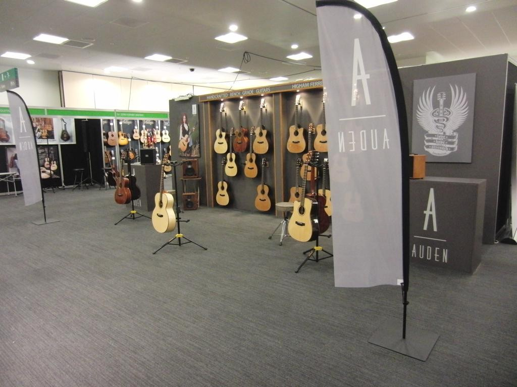 Auden Guitars at London Acoustic Show 2014