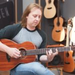 Dave Foster with Auden Guitar