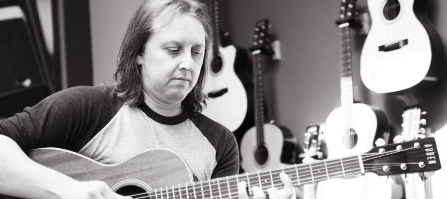 Dave Foster plays Auden Guitars
