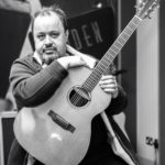 Steve Rothery at Auden Guitars Showroom