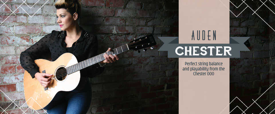 Auden Chester acoustic guitar page header graphic