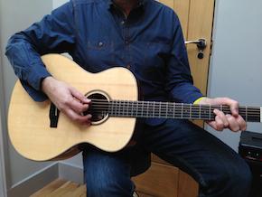Auden Austin acoustic guitar