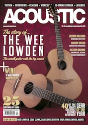 acoustic magazine december 2014 front cover