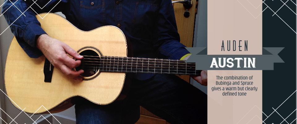 Austin acoustic guitar by Auden - header image