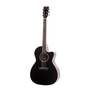 Auden Chester Cedar Cutaway Black Series Acoustic guitar front image