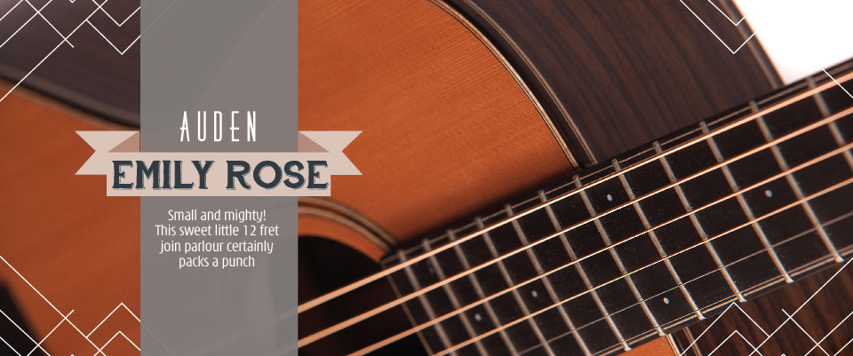 Emily Rose acoustic guitars by Auden - header image