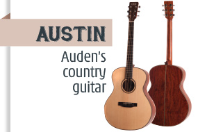Auden Austin Acoustic Guitar - front page selection graphic