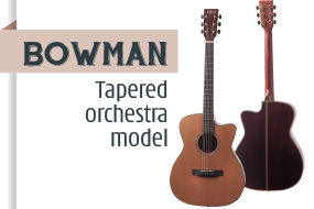 Auden Bowman Acoustic Guitar - front page selection graphic