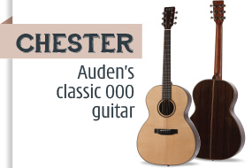 Auden Chester Acoustic Guitar - front page selection graphic