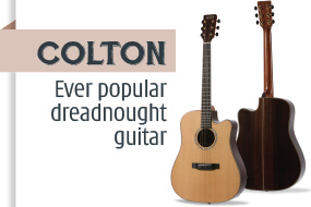Auden Colton Acoustic Guitar - front page selection graphic