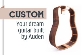 Auden Customer Build Acoustic Guitar - front page selection graphic