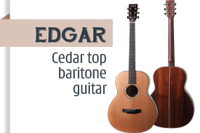 Auden Edgar Acoustic Guitar - front page selection graphic