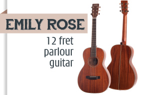 Auden Emily Rose Acoustic Guitar - front page selection graphic