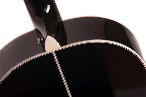 Chester black series fullbody heel detail