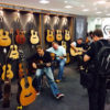London Acoustic Guitar Show playing Auden Guitars