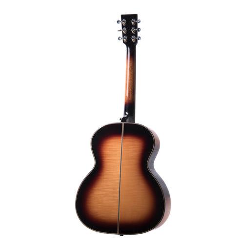 Auden Chester golden Sunburst Fullbody back acoustic guitar