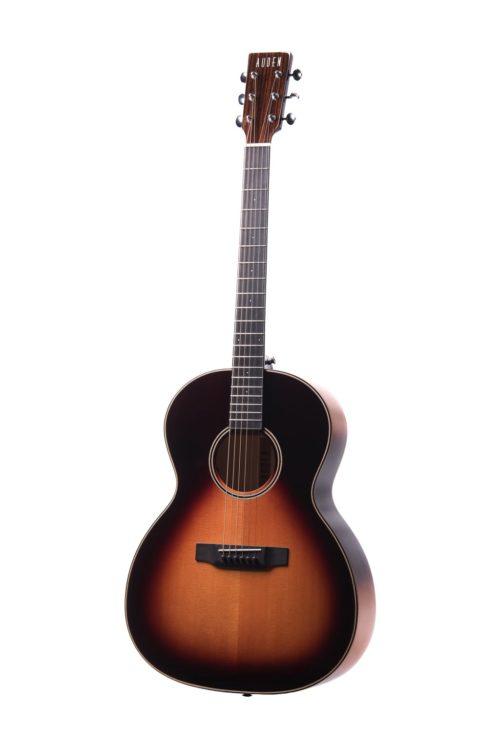 Auden Chester Golden Sunburst Fullbody front full acoustic guitar