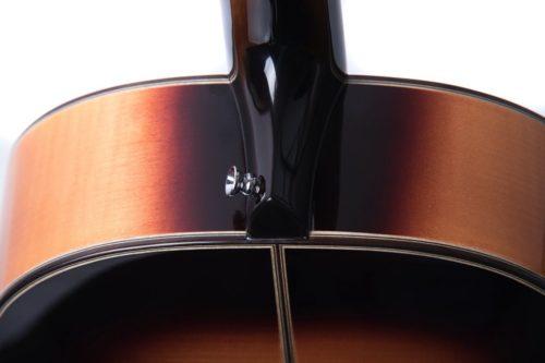 Chester Golden sunburst shoulders - Auden acoustic guitar