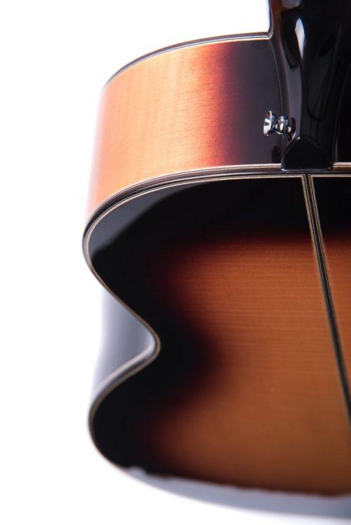 Chester Golden Sunburst top neck - Auden acoustic guitar