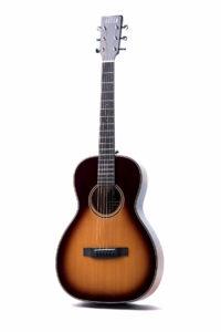 Emily Rose Sunburst Fullbody front full square - Auden acoustic guitar