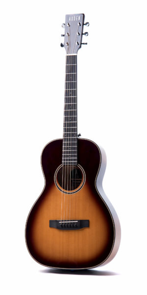 Emily Rose Sunburst Fullbody front full square - Auden acoustic guitar