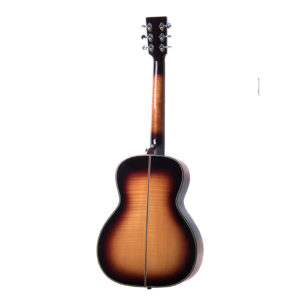 Auden Marlow Sunburst Fullbody back full acoustic guitar