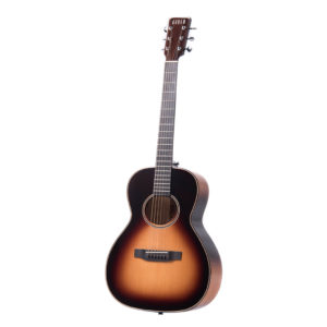 Auden Marlow Sunburst Fullbody front full acoustic guitar