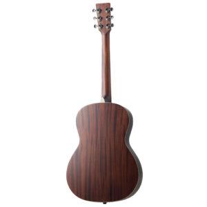 Julia acoustic guitar by Auden Guitars - rear