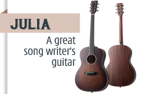 Julia acoustic guitar Auden Guitars home page image