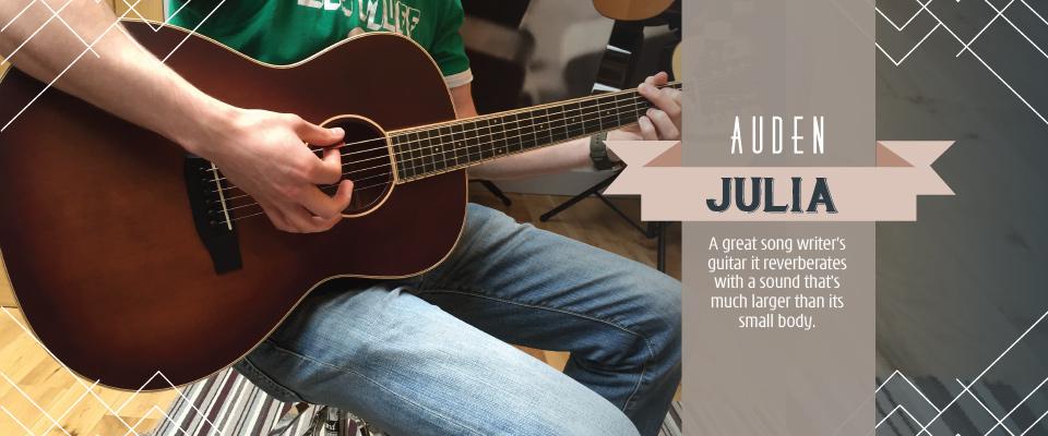 Julia acoustic guitar slider image