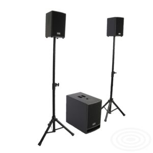 Pocket One Sub from SR Technology - compact active loudspeaker systems
