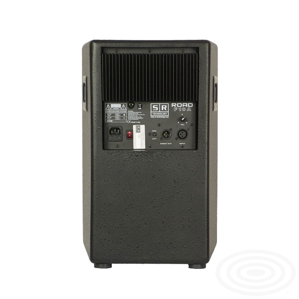 Road F10A - active loudspeaker from SR Technology - rear image