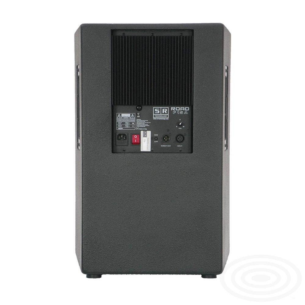 Road F15A active loudspeaker from SR Technology - rear mage