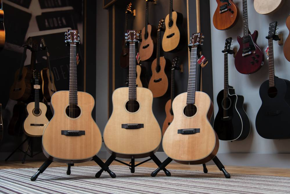 Players Range Front - Auden Guitars